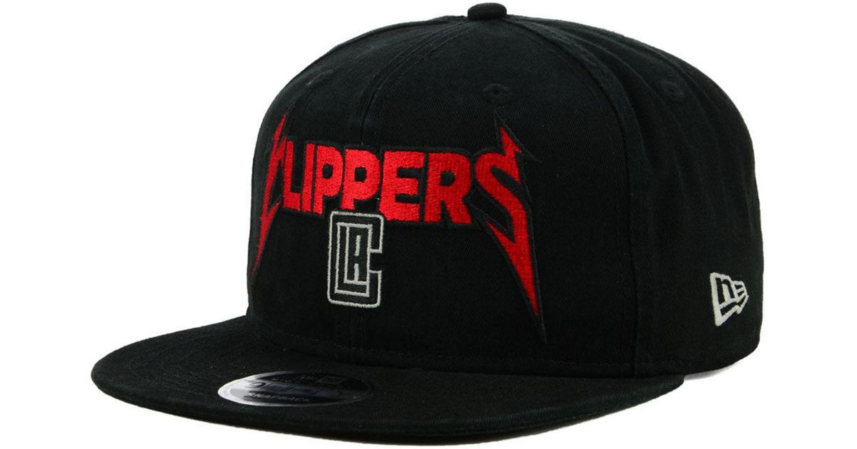 cef3a64c3ba Lyst - KTZ Los Angeles Clippers 90s Throwback Groupie 9fifty Snapback Cap  in Black for Men