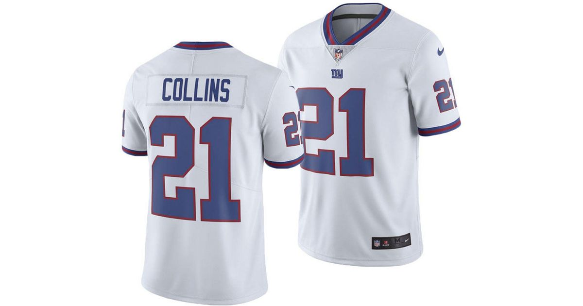 finest selection 577d4 bf3a5 Nike - White Landon Collins New York Giants Limited Color Rush Jersey for  Men - Lyst