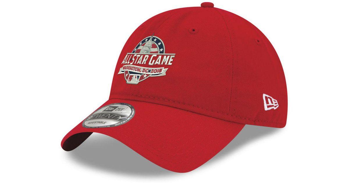 buy online 62aa5 55fb5 Lyst - KTZ 2018 Mlb All Star Game 9twenty Cap in Red for Men