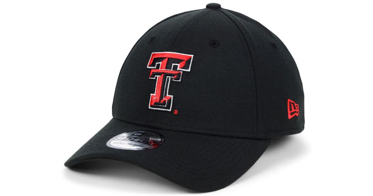 Lyst - Ktz Texas Tech Red Raiders College Classic 39thirty Cap in Black for  Men 81773c53f2dc