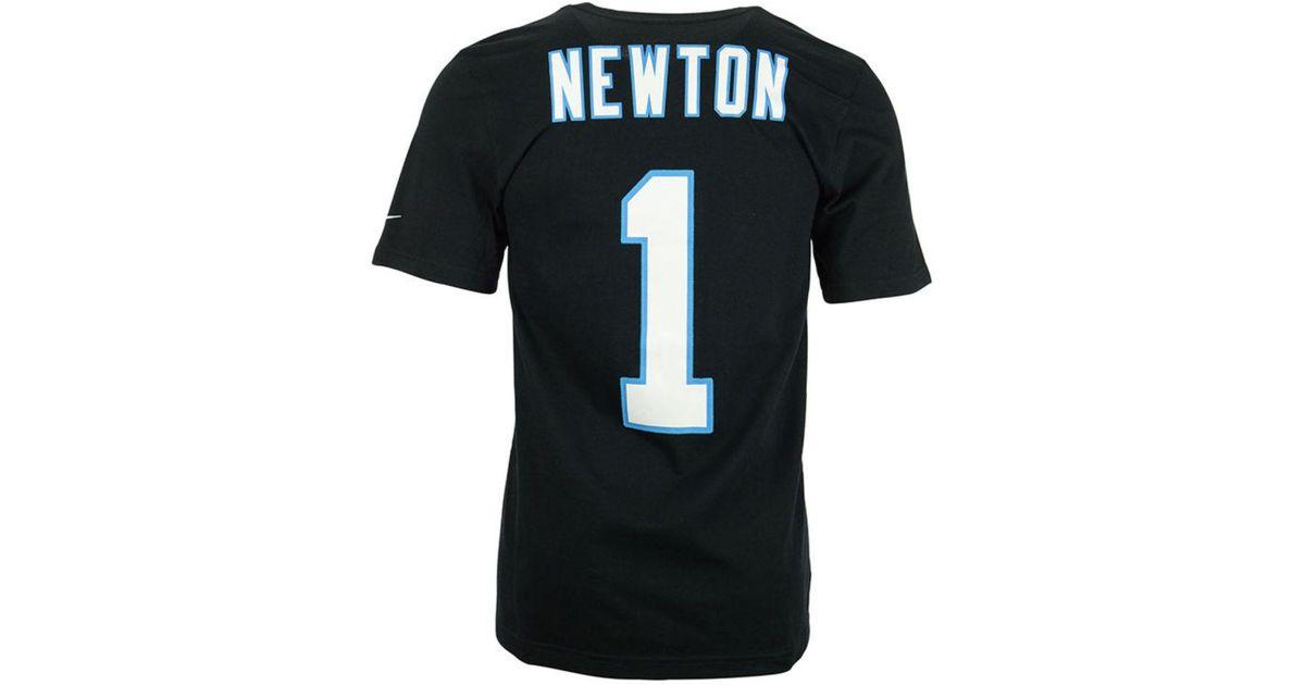 29b33bc46 Lyst - Nike Men's Cam Newton Carolina Panthers Pride Name And Number T-shirt  in Black for Men