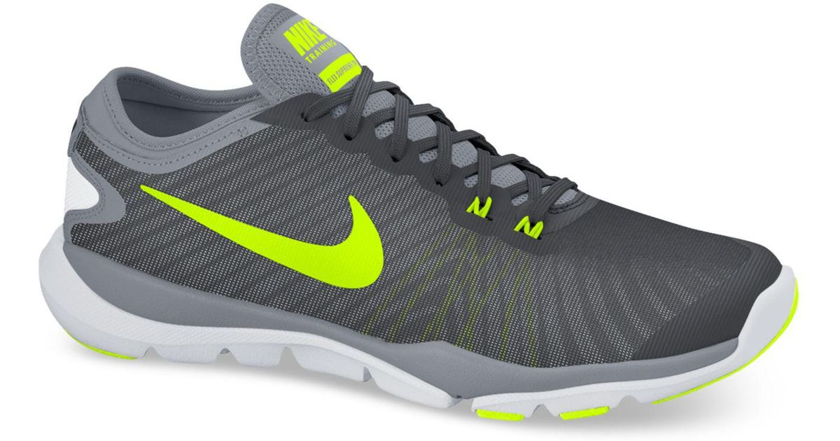 213ee13b878 Lyst - Nike Women s Flex Supreme Tr 4 Wide Training Sneakers From Finish  Line in Gray for Men