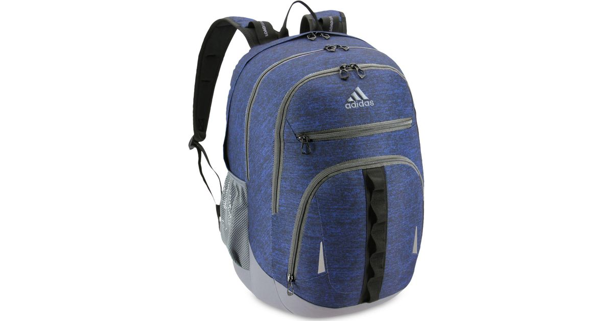 Lyst - adidas Prime Iv Backpack in Blue 152a76e43009d