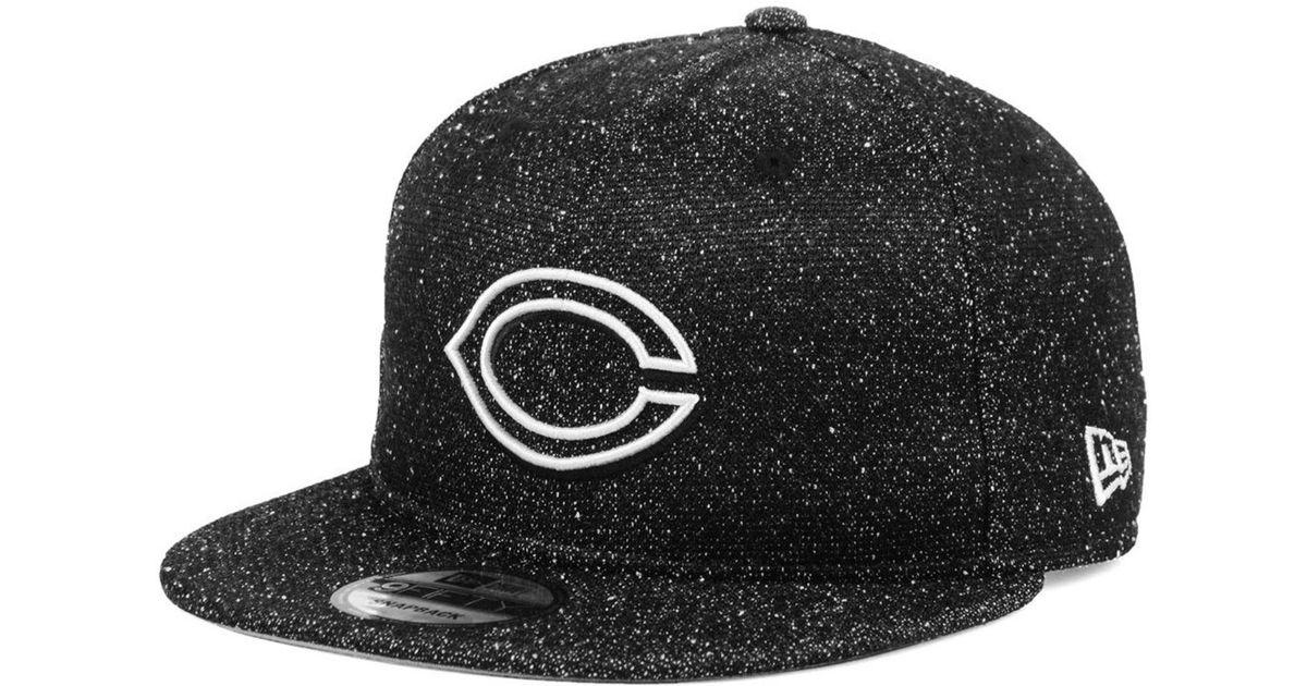 4419bc9555e Lyst - KTZ Cincinnati Reds Spec 9fifty Snapback Cap in Black for Men