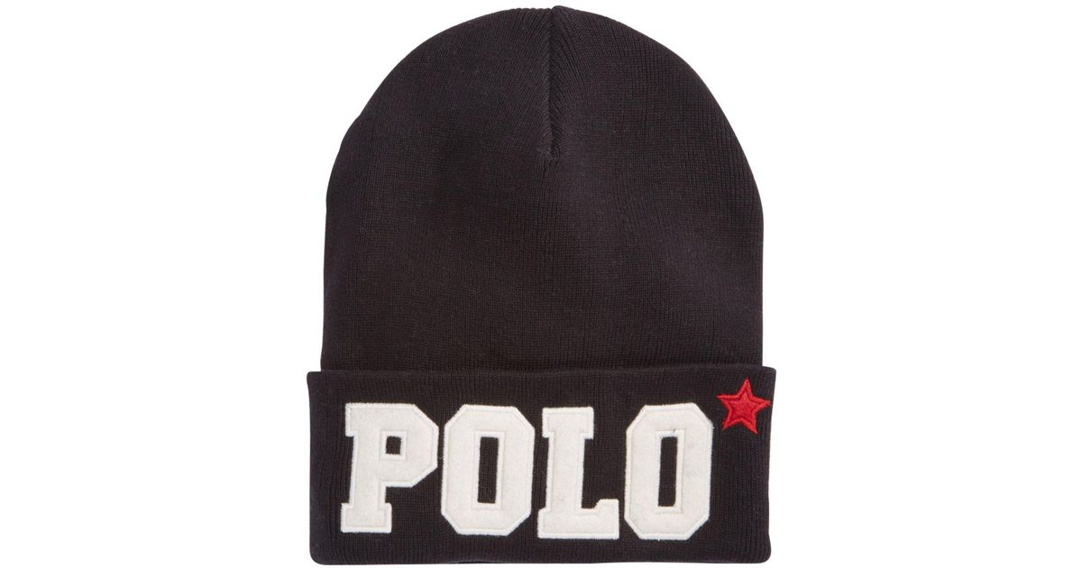 07241c3fa black polo knit hat not working