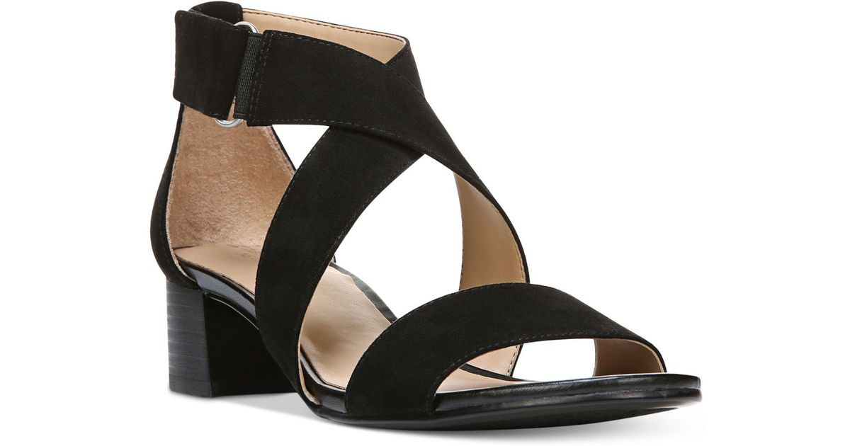 3b37be4f7be Lyst - Naturalizer Adele Sandals in Black