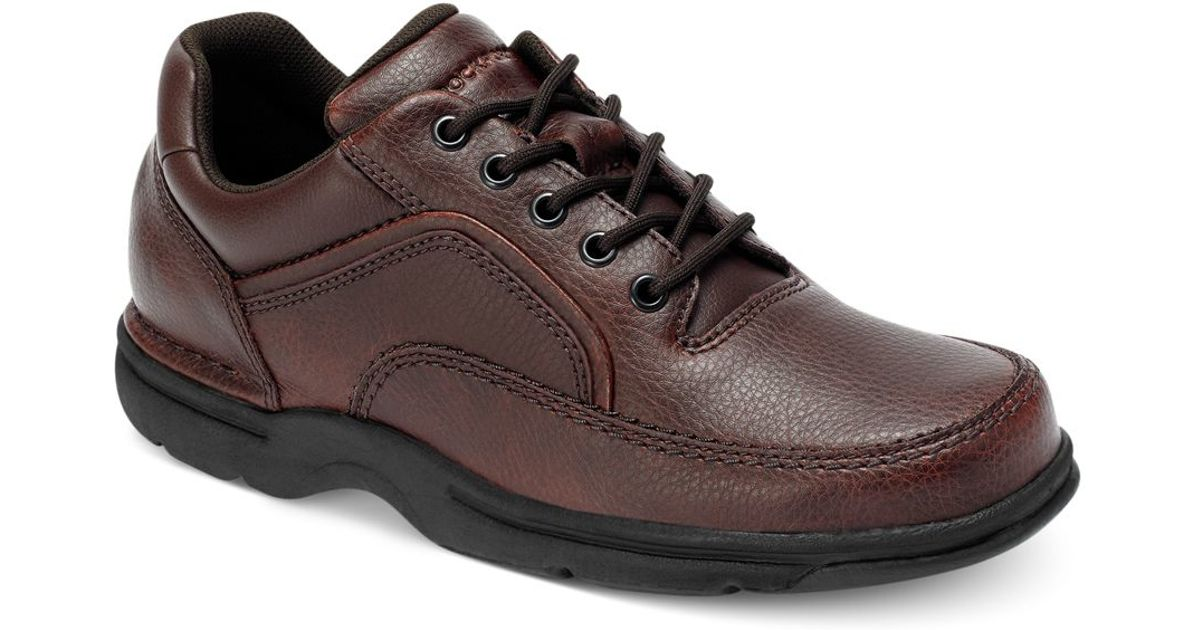 Rockport Men S Shoes Brown Walking
