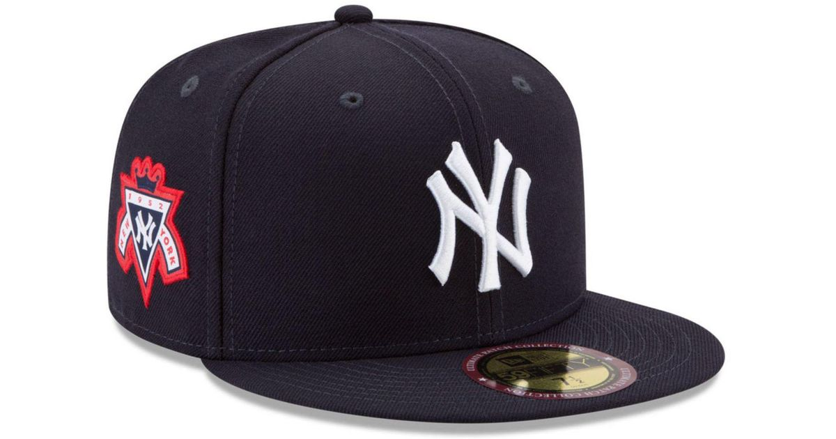 premium selection bce59 c767e Lyst - Ktz New York Yankees Ultimate Patch Collection Game 59fifty Fitted  Cap in Blue for Men