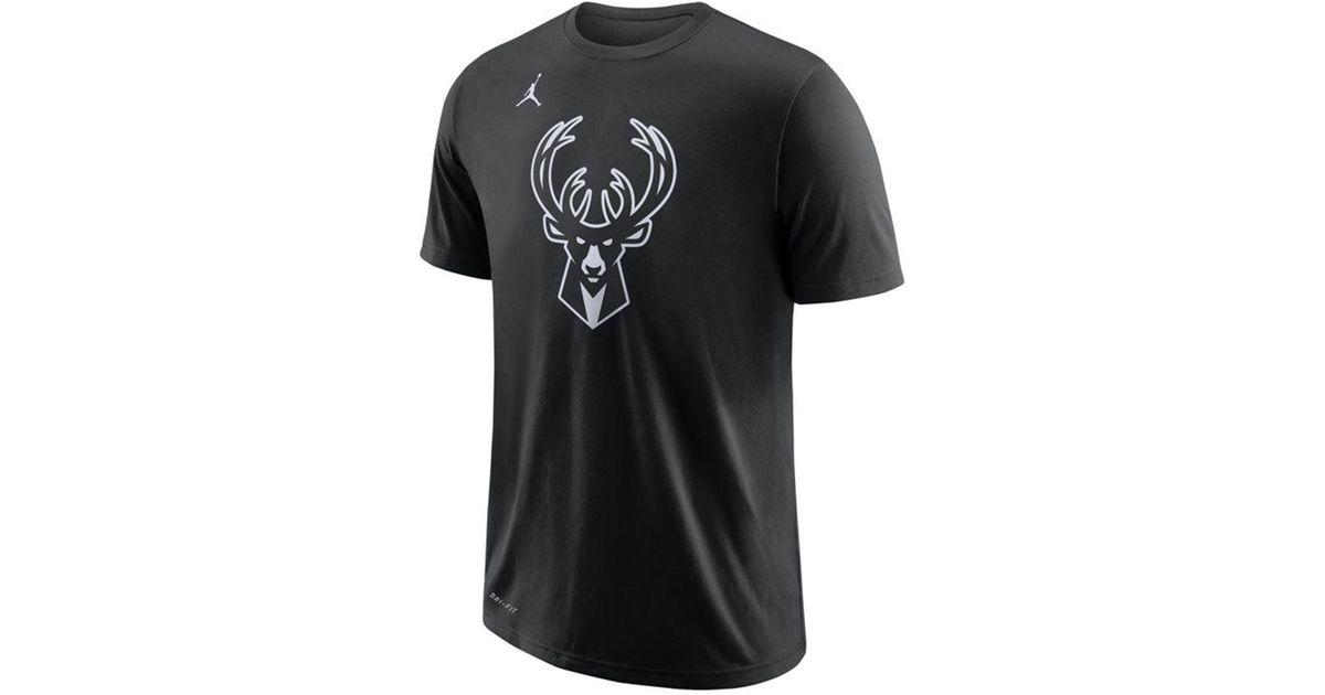 555244257 Nike Giannis Antetokounmpo Milwaukee Bucks All Star Player T-shirt in Black  for Men - Lyst