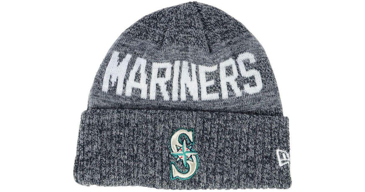 abb0789979711 Lyst - KTZ Seattle Mariners Crisp Color Cuff Knit Hat in Blue for Men