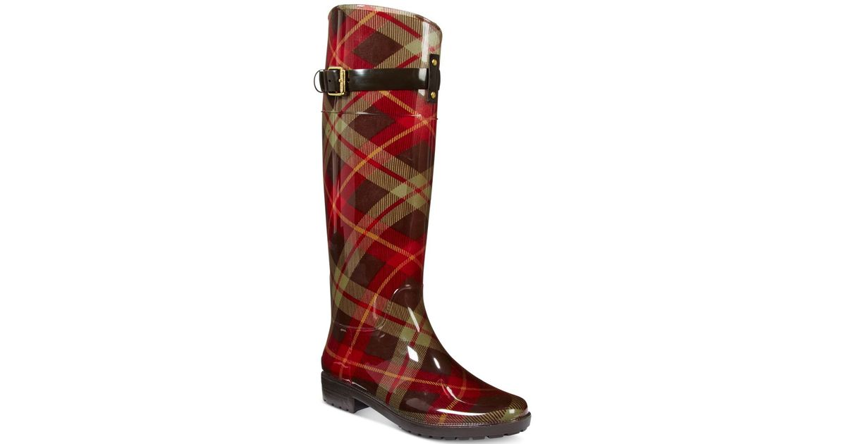 Amazing Lauren By Ralph Lauren Women39s Rossalyn Ii Rain Boots In Black  Lyst