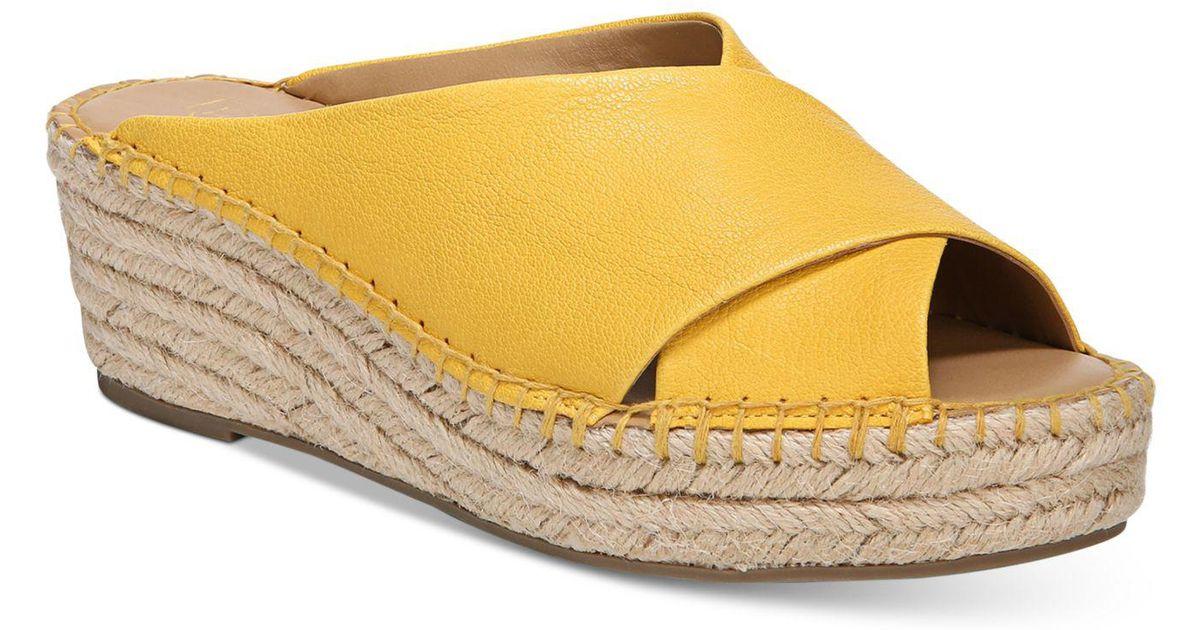 c90dc6d6e7f Lyst - Franco Sarto Polina Espadrille Platform Wedge Sandals ...