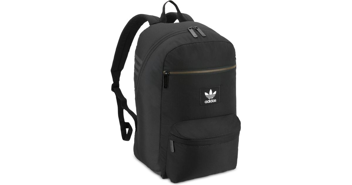 bf08ebe099f Lyst - adidas Originals National Plus Backpack in Black for Men