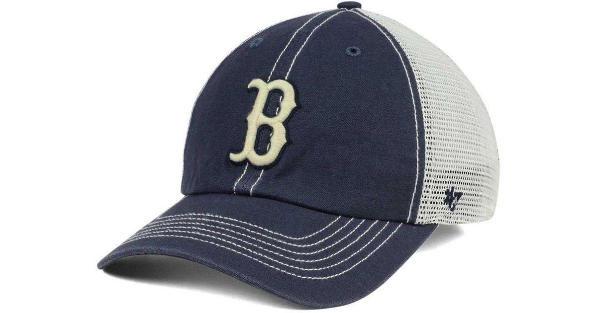 half off 53f8e b298a Lyst - 47 Brand Boston Red Sox Prospect Mesh Closer Cap in Blue for Men