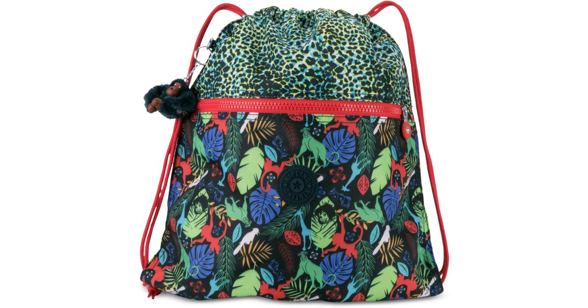 752df65efe Lyst - Kipling Disney s® The Jungle Book Supertaboo Backpack in Green