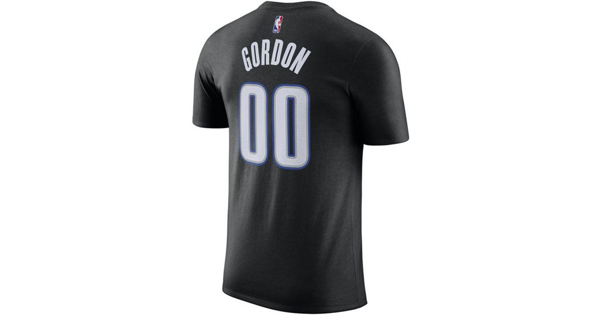 18beed08e04 Nike Aaron Gordon Orlando Magic City Player T-shirt in Black for Men - Lyst