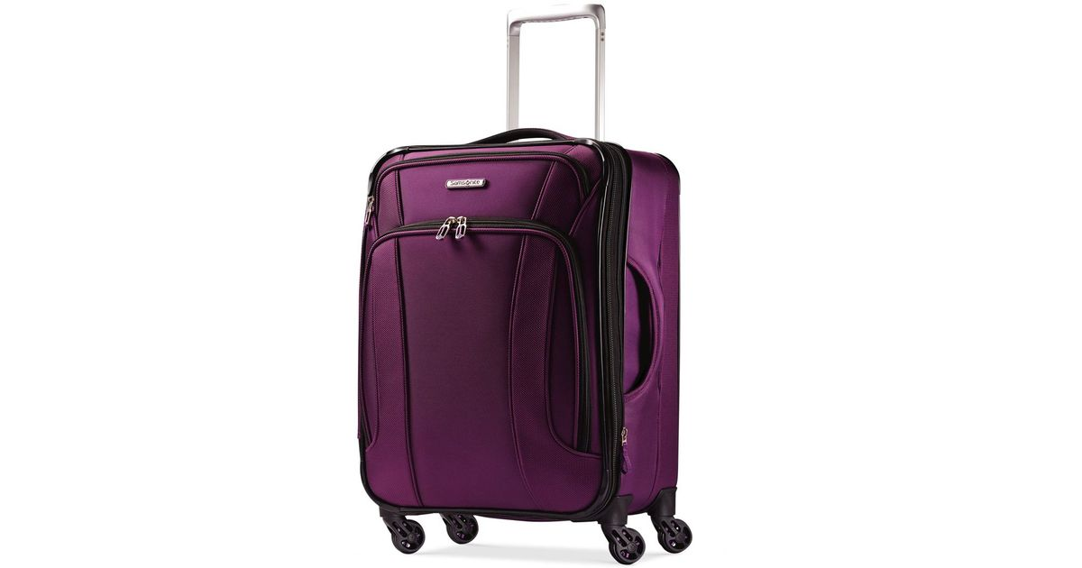 Samsonite Liteair 20 Quot Carry On Expandable Spinner Suitcase