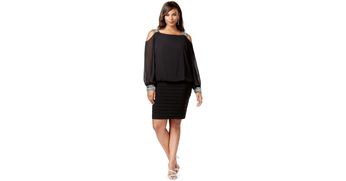 Betsy And Adam Plus Size Dresses