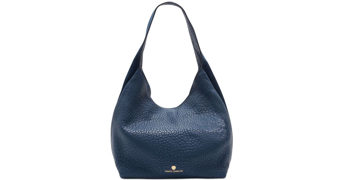445d17969f Lyst - Vince Camuto Rita Hobo in Blue