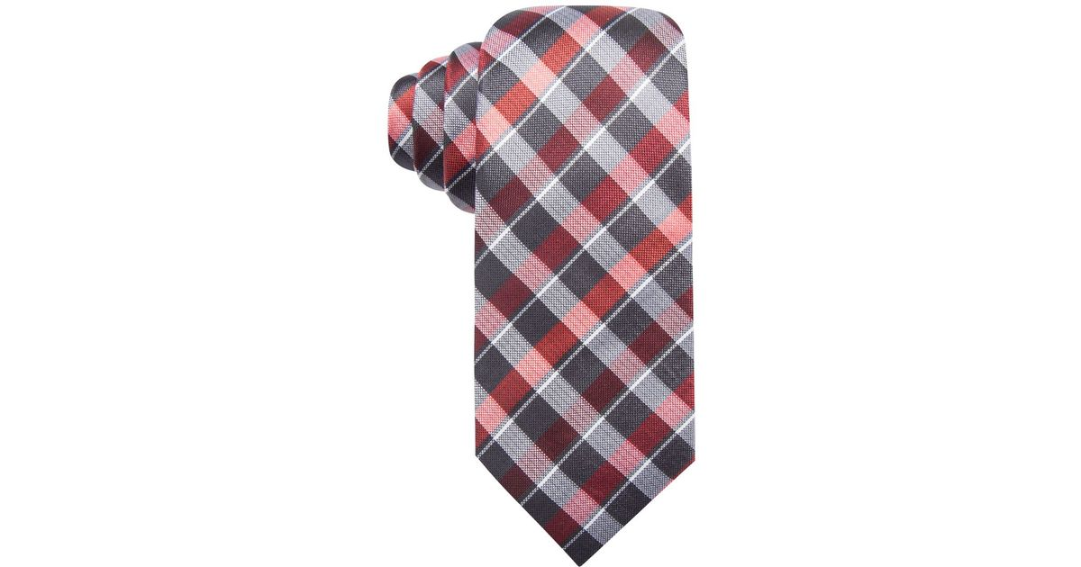 alfani s spectrum plaid slim tie only at