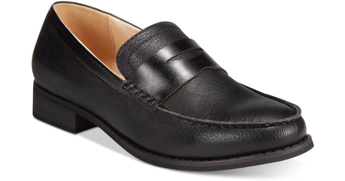 a59d0a27097 Wanted - Black Crew Penny Loafers for Men - Lyst