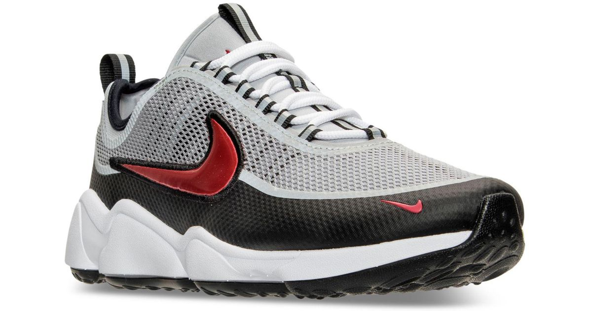 5c722b538530 Lyst - Nike Men s Air Zoom Spiridon Ultra Casual Sneakers From Finish Line  in Metallic for Men