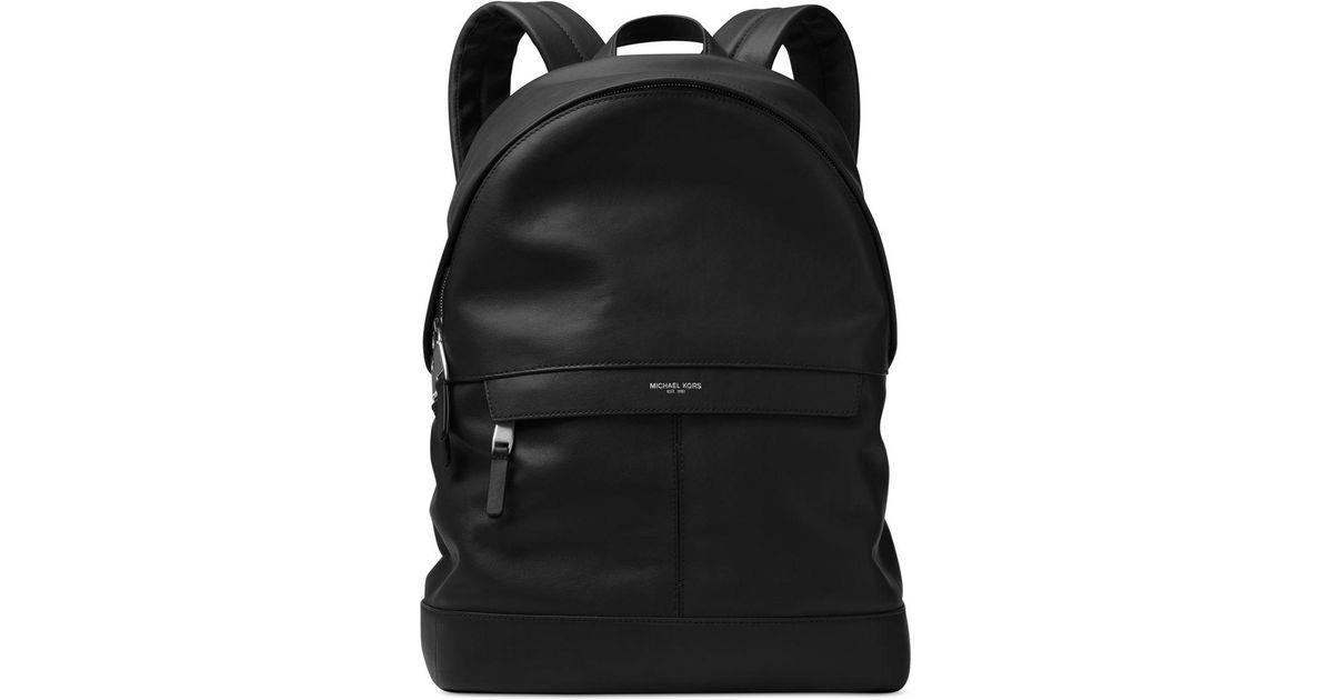 d3345e4eb17a4 Lyst - Michael Kors Men s Odin Resina Backpack in Black for Men