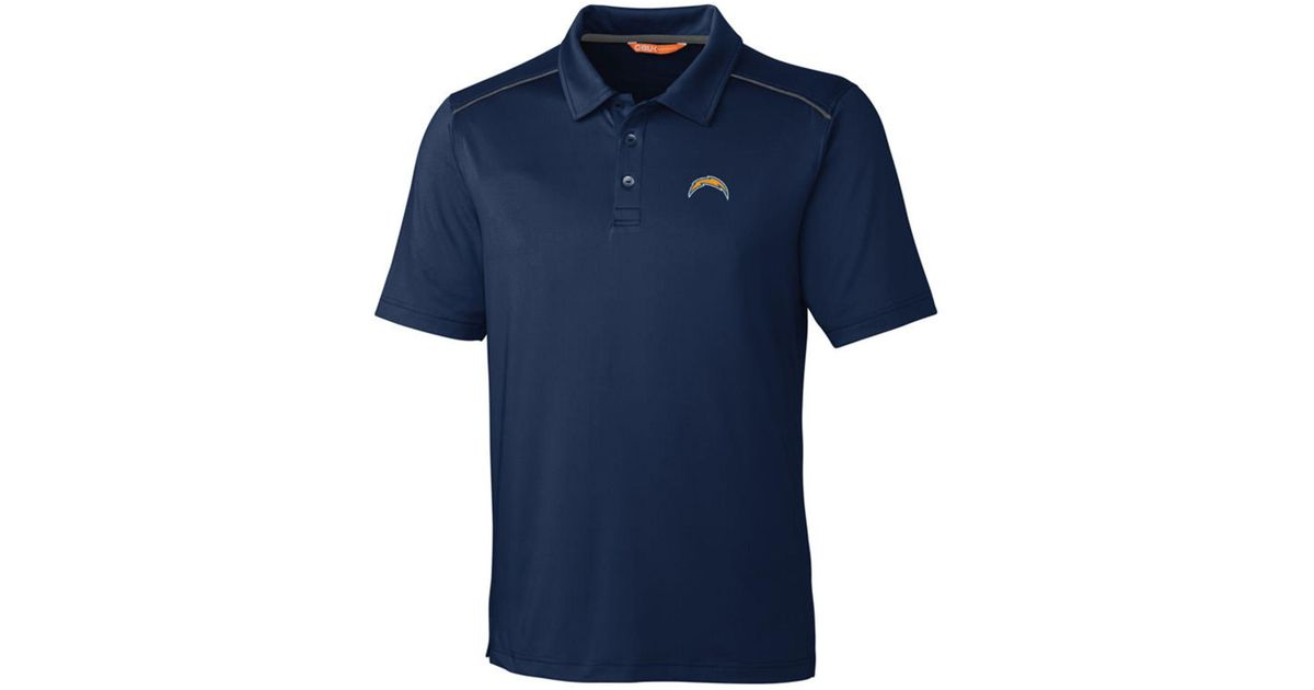 7922694ec Lyst - Cutter   Buck Los Angeles Chargers Chance Polo in Blue for Men