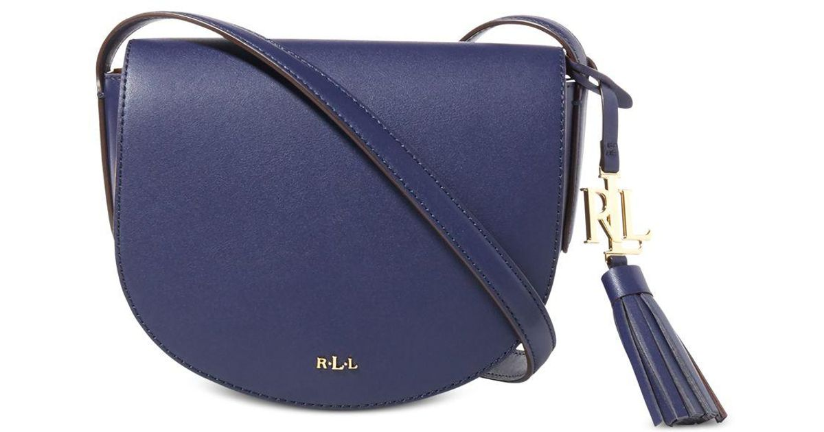 bd4a5ec388 Lyst - Lauren by Ralph Lauren Dryden Caley Mini Saddle in Blue