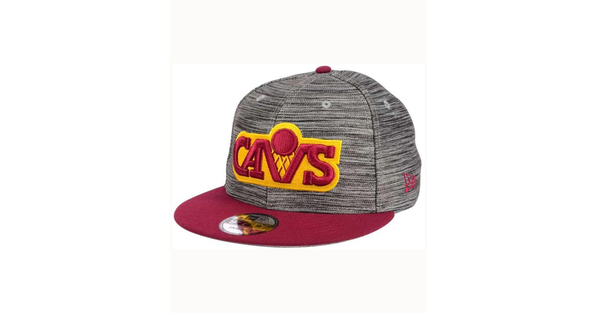 info for 5d3d6 dcd3f Lyst - KTZ Cleveland Cavaliers Blurred Trick 9fifty Snapback Cap for Men