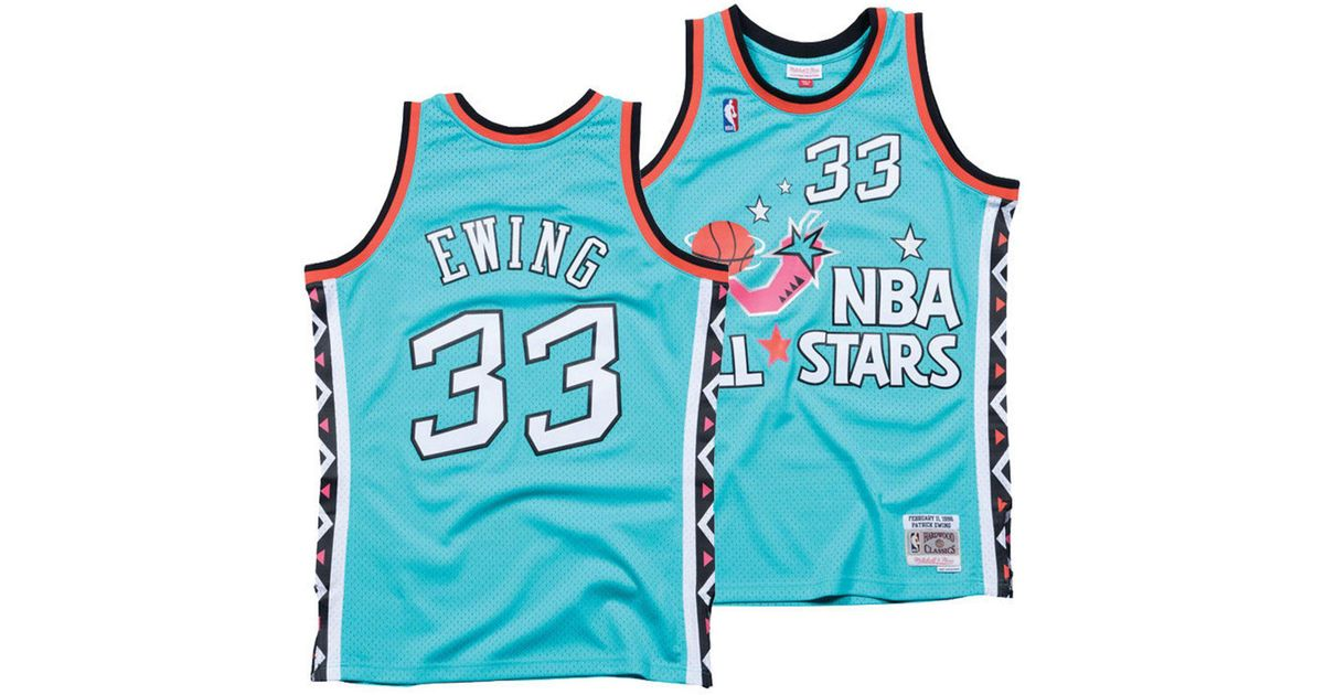 25eb83e03fc Mitchell & Ness Patrick Ewing Nba All Star 1996 Swingman Jersey in Blue for  Men - Lyst