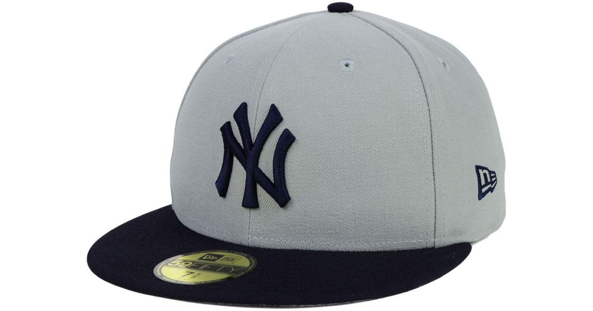 8f2d0e13ad8 ... new york yankees adjustable snapback hat white gold with flower b209d  2106a  low price lyst ktz batting practice diamond era 59fifty cap in gray  for men ...