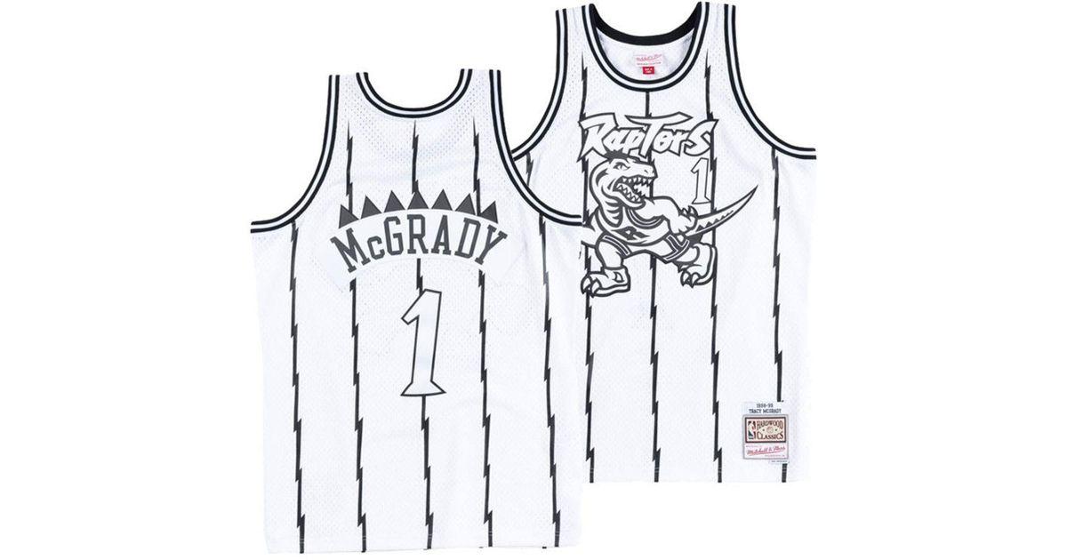 e81ffcebe66d Mitchell   Ness Tracy Mcgrady Toronto Raptors Concord Collection Swingman  Jersey in White for Men - Lyst