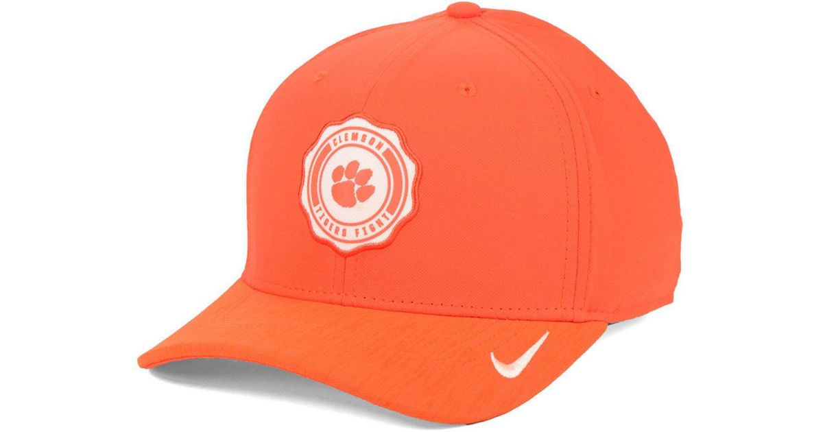 00f09dd065f Lyst - Nike Clemson Tigers Rivalry Cap in Orange for Men