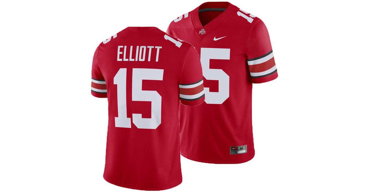 Lyst - Nike Ezekiel Elliott Ohio State Buckeyes Player Game Jersey in Red  for Men a91718ef0