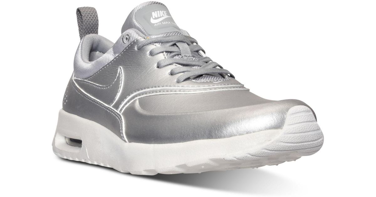 official photos 39e32 804dc Lyst - Nike Air Max Thea Se Running Sneakers From Finish Line in Metallic