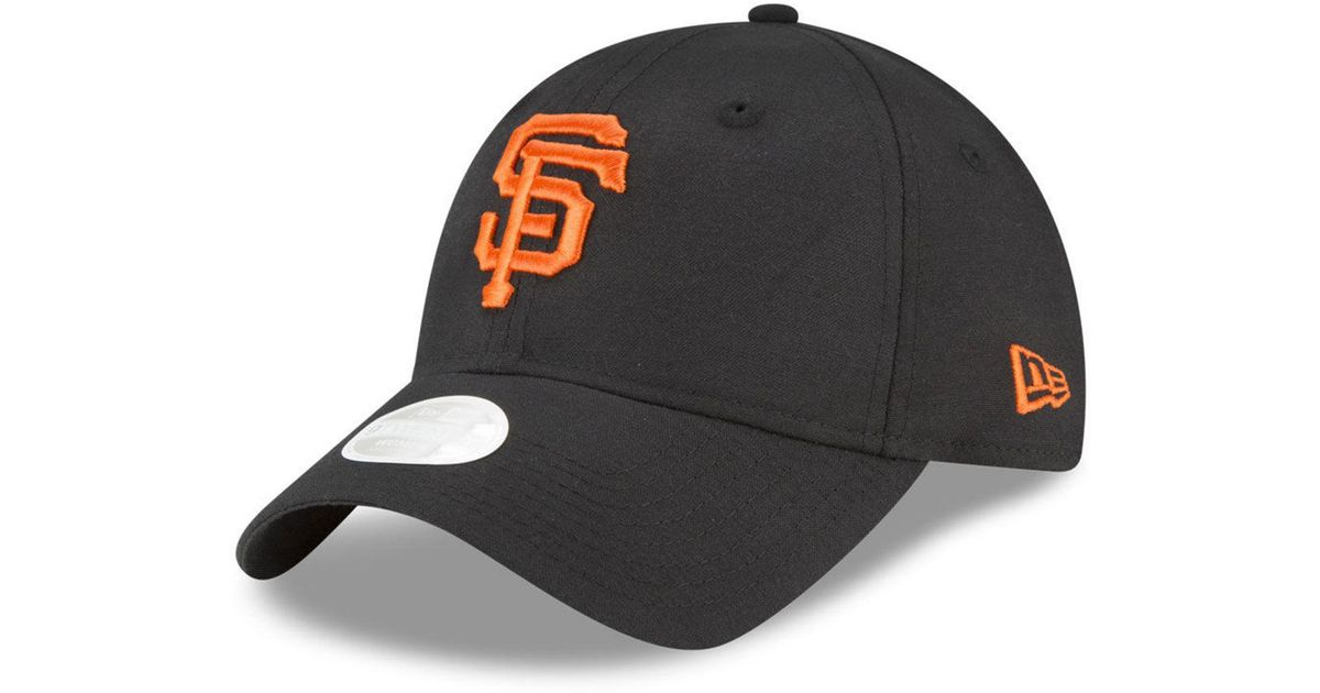 sports shoes ff17d 5410f Lyst - KTZ San Francisco Giants Team Linen 9twenty Strapback Cap in Black  for Men