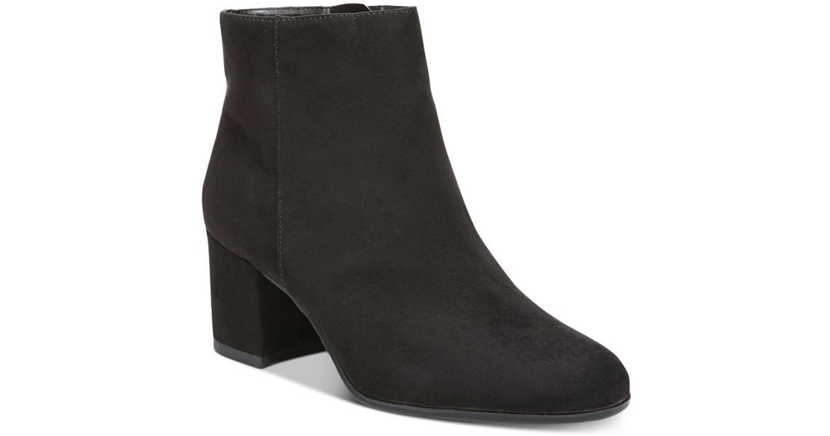 da034d6521de45 Lyst - Circus by Sam Edelman Vikki Block-heel Booties in Black