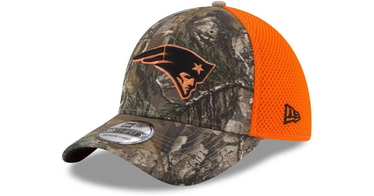 factory price a02c1 db4b0 ... best price lyst ktz new england patriots realtree hunter neo 39thirty  cap for men 9519d 03ee8