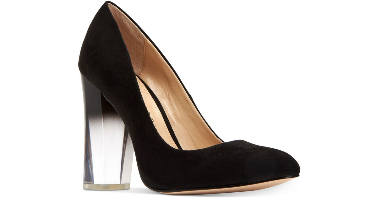 88021ce148c Lyst - Katy Perry The A.w. Ombré-lucite Pumps in Black