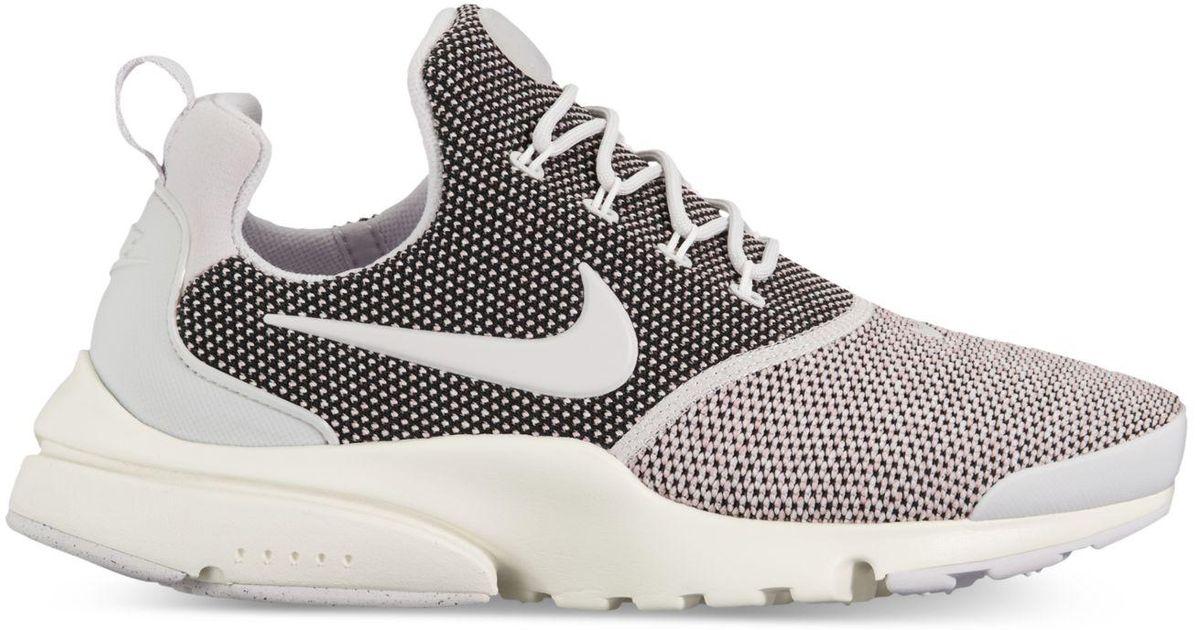 Lyst - Nike Women s Presto Ultra Se Running Sneakers From Finish Line in  Gray 098cc6fce0