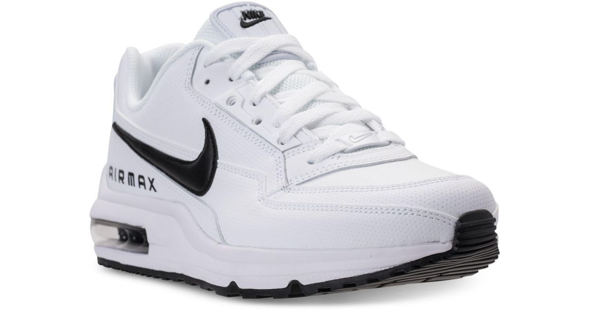 timeless design 1d432 a8904 Lyst - Nike Mens Air Max Ltd 3 Running Sneakers From Finish Line in White  for Men