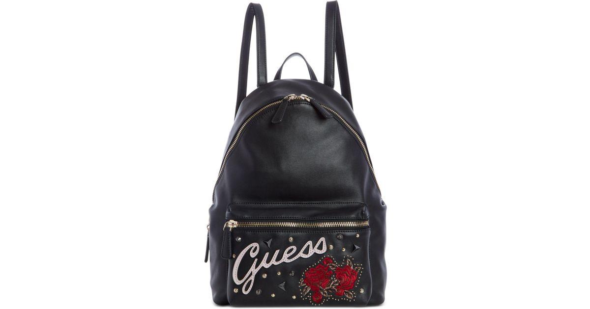 267cfb89e9 Lyst - Guess Urban Sport Leeza Backpack in Black