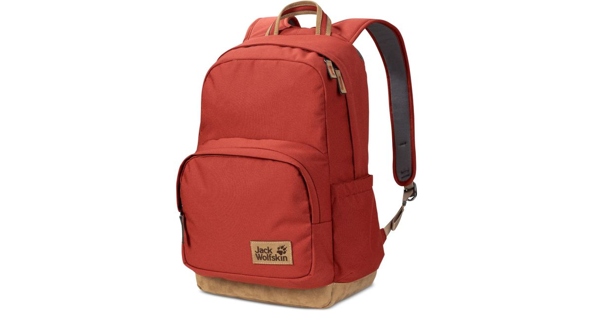 f2913751d0 Jack Wolfskin Croxley Laptop Backpack From Eastern Mountain Sports in Red -  Lyst