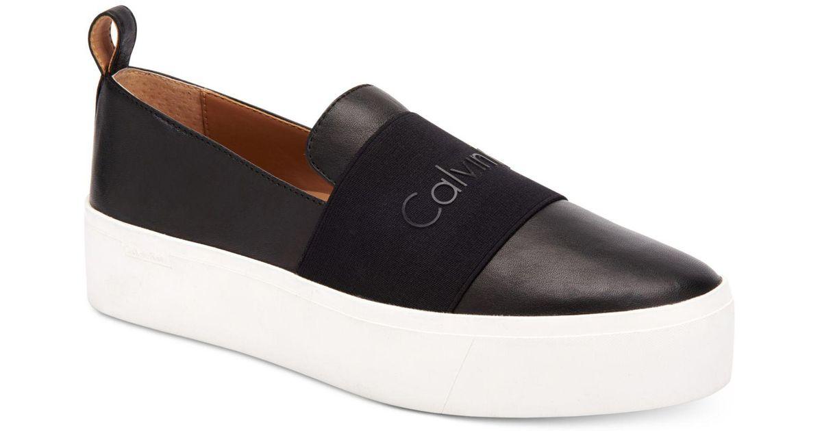 Calvin Klein Women's Jacinta Platform Sneaker zcJziQf