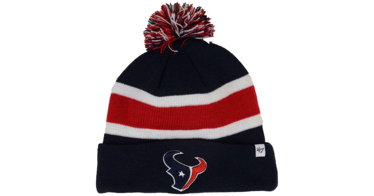 Lyst - 47 Brand Houston Texans Nfl Breakaway Knit Hat in Blue for Men eb3d2610827f