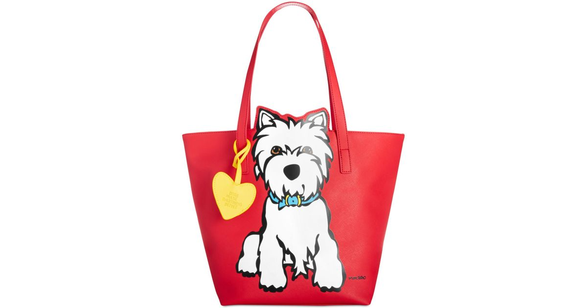 Lyst - Marc Tetro Nyc Westie Tote in Red 50a5293ebcaf7