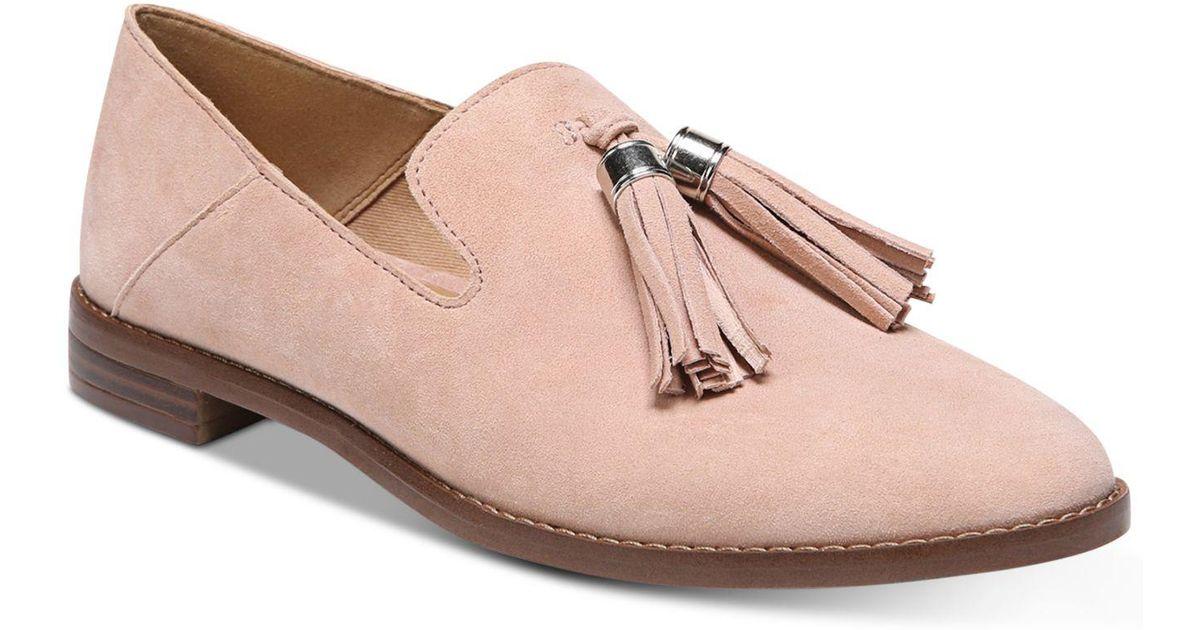 b79f8f1f3fa Lyst - Franco Sarto Hadden Loafer Flats in Pink