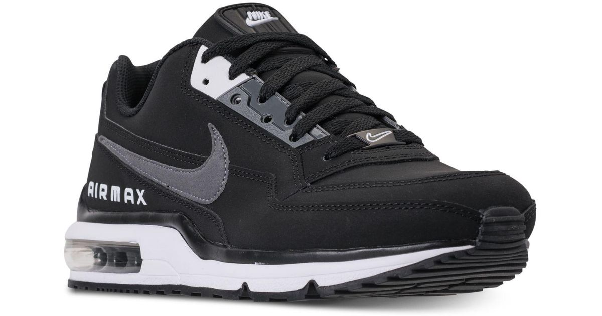 online retailer 7cb7c dede7 Lyst - Nike Air Max Ltd 3 Running Sneakers From Finish Line in Black for Men