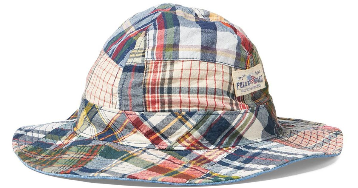 3acff9af034cd Polo Ralph Lauren Reversible Madras Bucket Hat - The Best Photos Of Hat